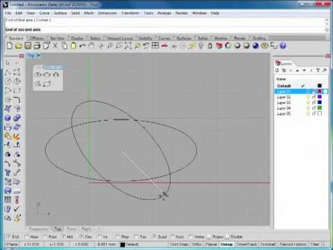 Rhino 5 Tutorial | Working with Polygons and Circles | InfiniteSkills Training