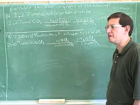 Stoichiometry. Atoms, molecules, moles (23)