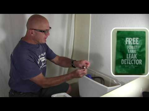 Toilet Leaks - finding and fixing them