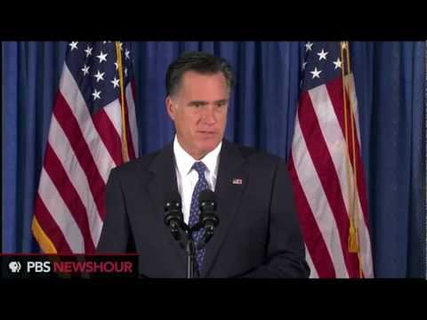 Watch Mitt Romney's Response to Killings at Libyan Consulate