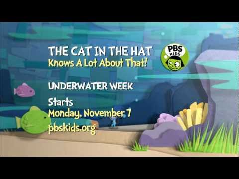 The Cat in the Hat Knows a Lot About That! | Underwater Week Starts Nov. 7th