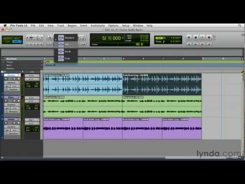 Pro Tools: Exploring time manipulation | lynda.com overview