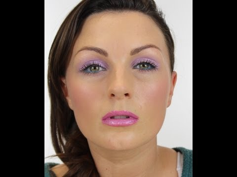 SPRING LILAC MAKE-UP TUTORIAL