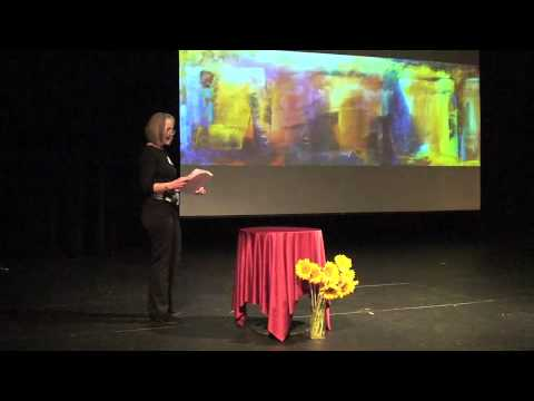 TEDxAFS-Marianne Mitchell My Journey as an Abstract Artis