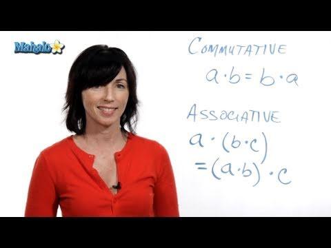 The Commutative & Associative Properties of Multiplication