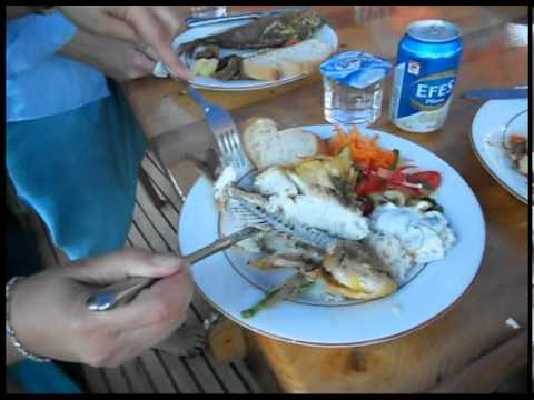 Turkish Lunch at Sea