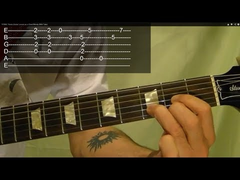 TITANIC Theme (Guitar Lesson) as a Chord Melody (With Tabs)
