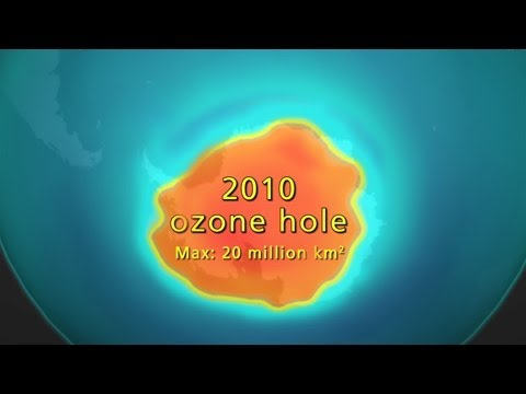 Science Bulletins: Ozone's Slow Recovery
