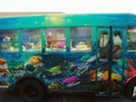 School Bus Aquarium | Tanked!
