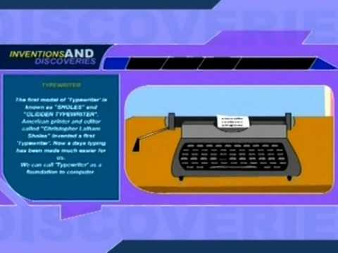 World's Greatest Inventions  - Type Writter