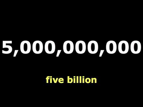 Numbers: Billion : English Language Learning
