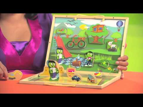 PBS KIDS Toys | Explore the Playground: Take-Along Puzzle Playset