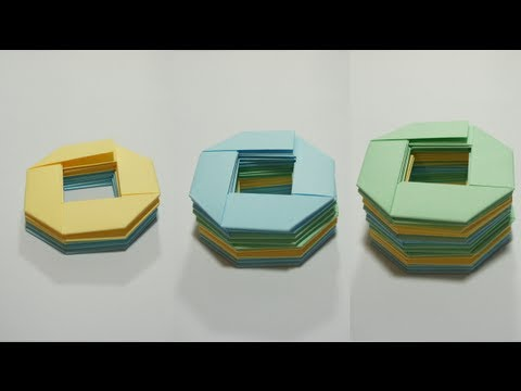 Origami Slinky - How many units do you need?