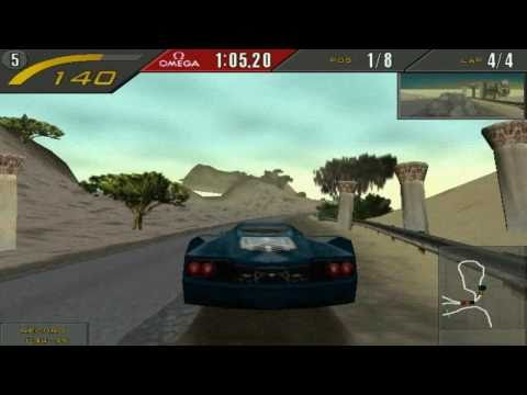 Need For Speed II SE - Mediterraneo (HD)