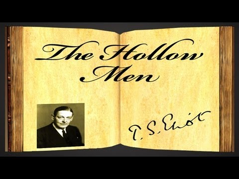 The Hollow Men by T.S. Eliot - Poetry Reading