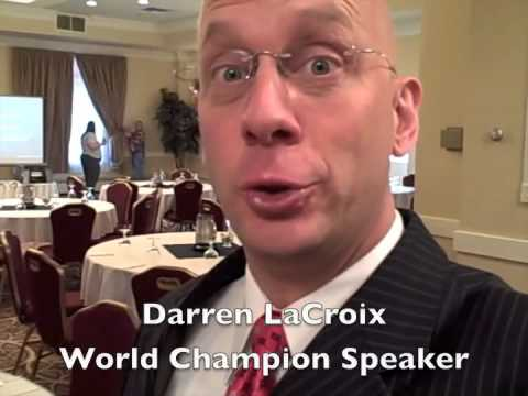 Power Point Presentation Tip- Darren LaCroix