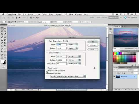 Total Training for Photoshop CS5 Essentials Chapter 1: Lesson  1. Pixels and Resolution