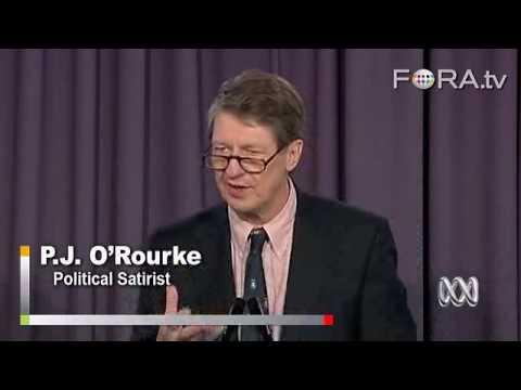 P.J. O'Rourke Says Gun Control Futile in US
