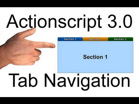 Tab Navigation Object Depth Management in AS3 : Flash Actionscript 3.0 Tutorial