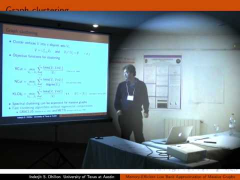 NIPS 2011 Sparse Representation & Low-rank Approximation Workshop: Fast & Memory...
