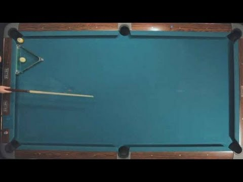 Pool Trick Shots / Advanced Shots: Jump Masse