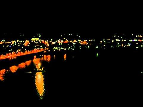 Willamette River at Night, Portland, Oregon