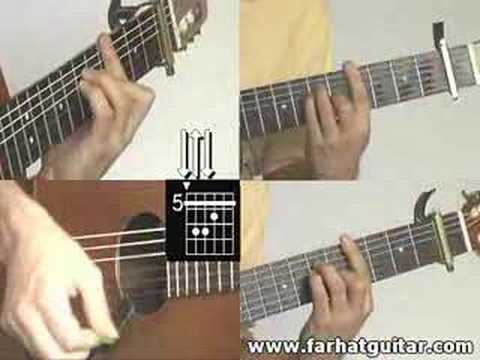 woman john Lennon Part 5 guitar lesson www.farhatguitar.com