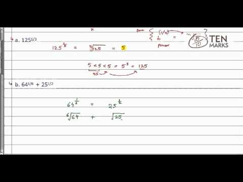 Simplifying nth root of b
