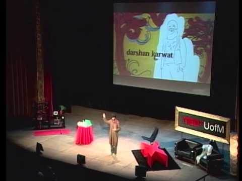 TEDxUofM - Darshan Karwat - Lessen Our Burden on the World