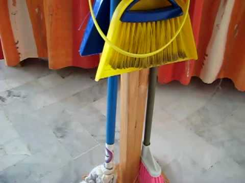 Preschool - Language. Cleaning stand
