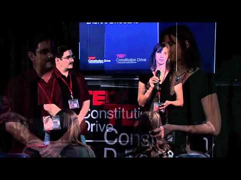 "TEDxConstitutionDrive 2012 - Laura Peticolas & Chuck Striplen - ""Tribal & Scientist Identities"""