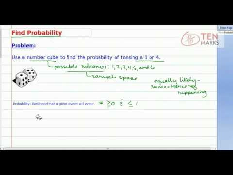 Probability of Events (Multiple Favorable Outcomes)