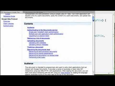 Zend Framework Google data PHP Client Update