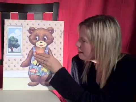 Weather Bear Felt Board | Cullen's Abc's