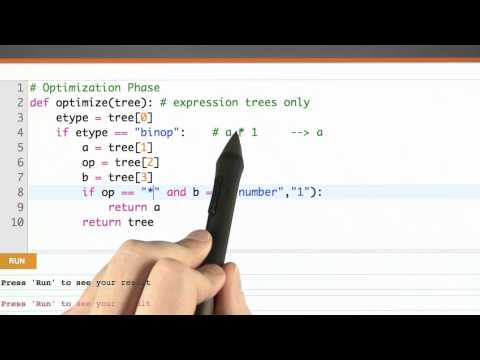 Optimization Timing - CS262 Unit 6 - Udacity