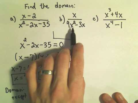 Rational Expressions and Domain