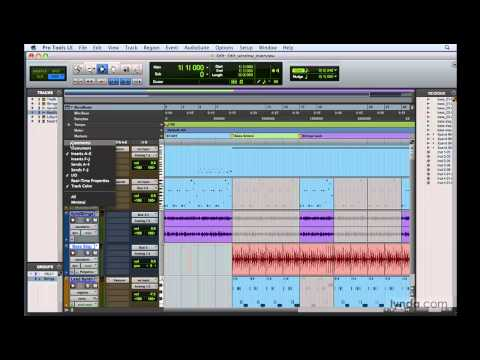 Pro Tools: Exploring the Edit window | lynda.com