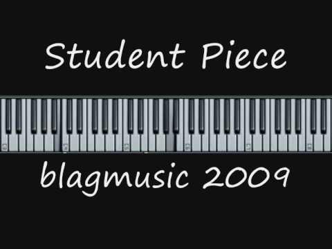 Student Piece 003 - Using a waltz left hand pattern