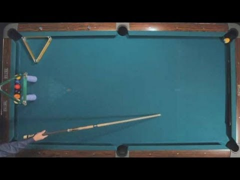Pool Trick Shots / Advanced Shots: Stroke Jump