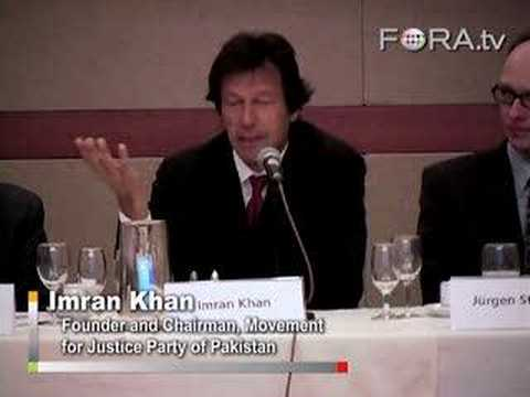 Pakistani Reform Starts with Judges - Imran Khan