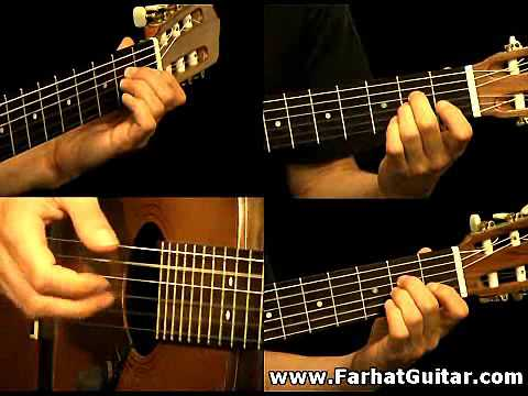 The unforgiven - Metallica Guitar Cover Full FarhatGuitar.com