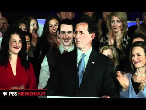 Watch Rick Santorum's South Carolina Concession Speech