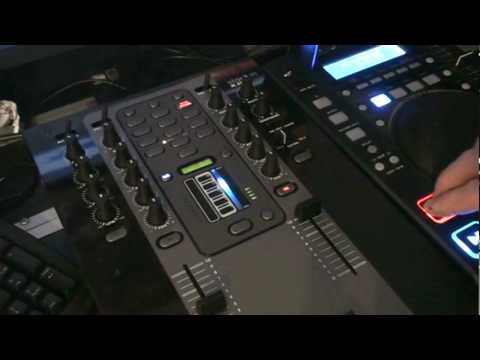 Stanton M.207 Fx mixer  A look at the echo & strobe