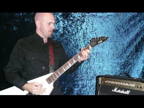 Super Fast Electric Guitar solo in Dmin