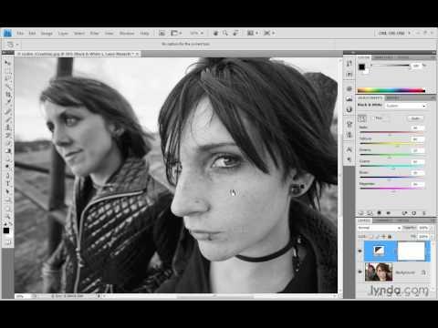 Photoshop Top 40 #36 - Black & White