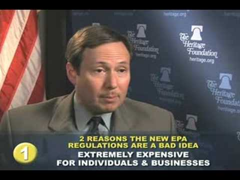 Two Reasons the New EPA Regulations are a Bad Idea