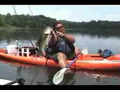 """Ray's 25"""" Bass at Briery Creek Lake"""