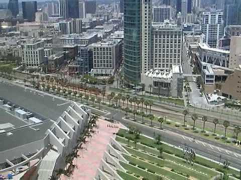 View of downtown San Diego, California, USA