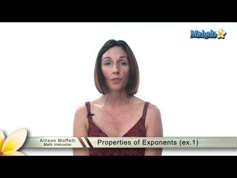Properties of Exponents (ex.1)
