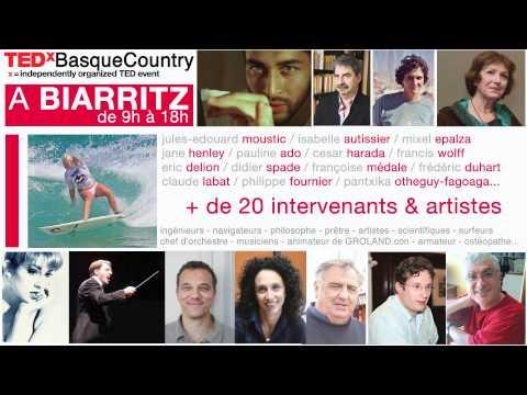 TEDxBasqueCountry 2011 Teaser. Theme : OCEANS. Biarritz